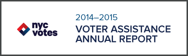 2014-2014 Voter Assistance Annual Report