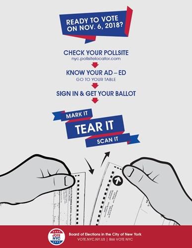 Mark It Tear It Scan It New York City Campaign Finance Board