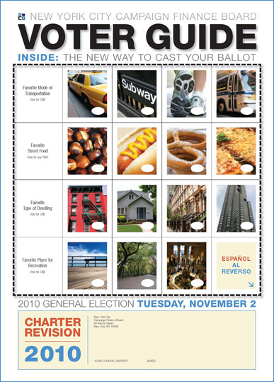2010 General Election Voter Guide cover