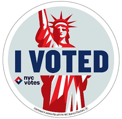 graphic relating to I Voted Stickers Printable titled I Voted\