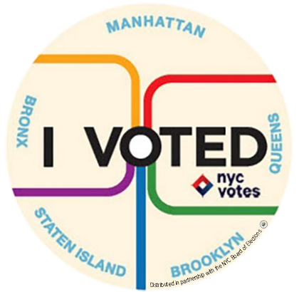 picture about I Voted Stickers Printable called I Voted\
