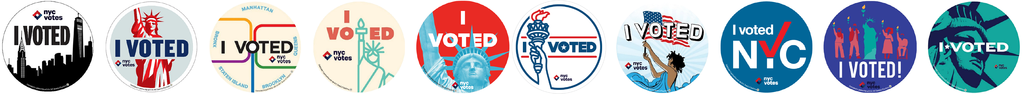 photo regarding I Voted Stickers Printable named I Voted\